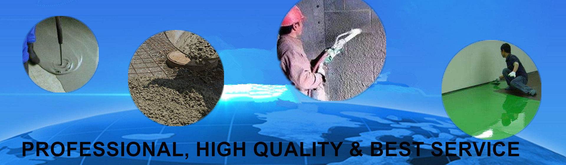 professional suppliers of concrete mortar additives